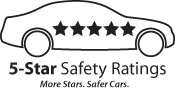 NHTSA 5 Star Safety